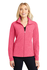 HBPC Port Authority® Ladies Heather Microfleece Full-Zip Jacket L235