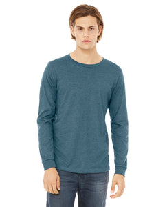 LL Loon Lake Words Only Unisex Long Sleeve Jersey Tee