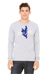 LL Lake Image Unisex Long Sleeve Jersey Tee