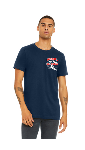 HHS Ski Team BELLA+CANVAS® 3001 Unisex Jersey Short Sleeve Tee - CV207