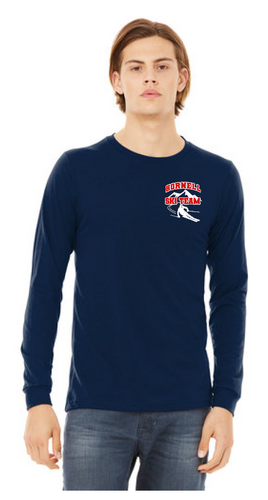 HHS Ski Team BELLA+CANVAS ® Unisex Jersey Long Sleeve Tee - BC3501
