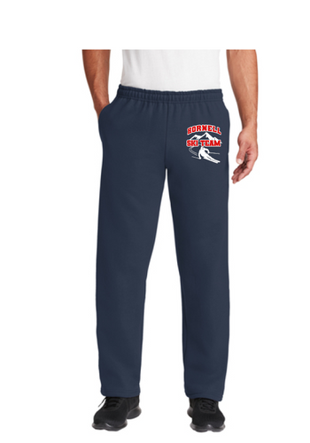 HHS Ski Team Gildan® DryBlend® Adult Open Bottom Sweatpants with Pockets - 12300