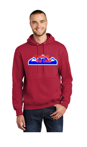 HSC Port & Company® Tall Essential Fleece Pullover Hooded Sweatshirt - PC90HT