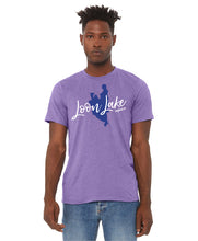Load image into Gallery viewer, LL Lake Image Unisex Short Jersey Sleeve Tee