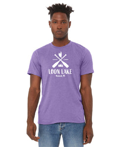 LL Two Oars Unisex Short Jersey Sleeve Tee