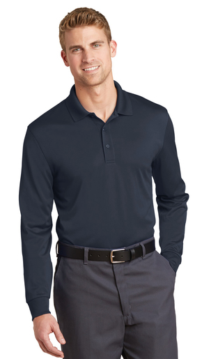 Swain Employee Long Sleeve Polo Shirt