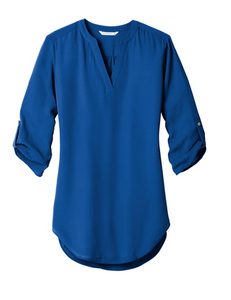 Swain Employee Ladies 3/4-Sleeve Tunic Blouse