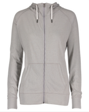 Load image into Gallery viewer, Hornell Ladies Funnel Neck Full Zip Hood EZ099
