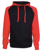 Load image into Gallery viewer, Hornell Unisex Colorblock Fleece Pullover Hood EZ328