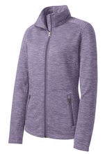 Load image into Gallery viewer, BOCES Port Authority® Ladies Digi Stripe Fleece Jacket L231