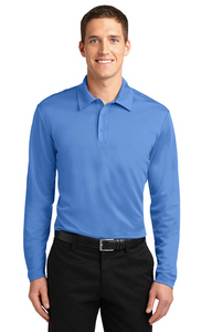 BOCES Silk Touch™ Performance Long Sleeve Polo K540LS