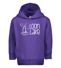 Load image into Gallery viewer, LL Sailboat Toddler Pullover Fleece Hoodie