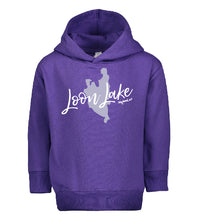 Load image into Gallery viewer, LL Lake Image Toddler Pullover Fleece Hoodie