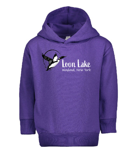 LL Loon Bird Toddler Pullover Fleece Hoodie