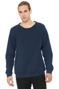 LL Sailboat Unisex Sponge Fleece Raglan Sweatshirt