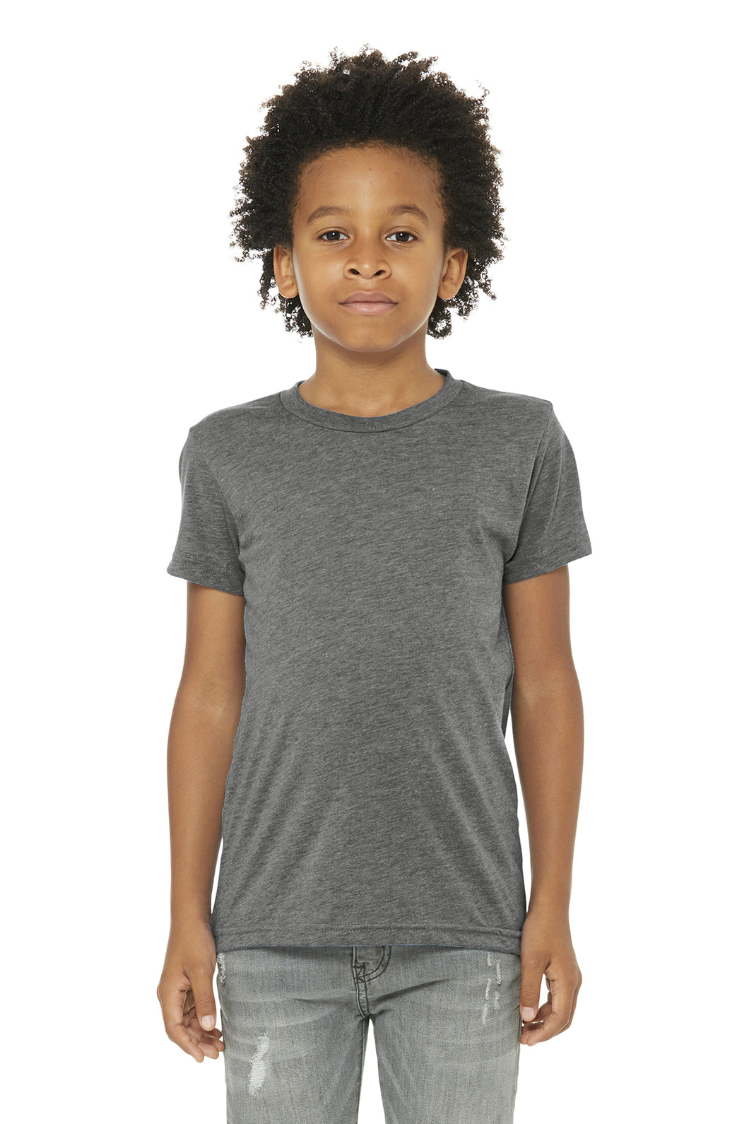 LL Sailboat Youth Triblend Short Sleeve Tee