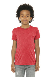 LL Loon Lake Words Only Youth Triblend Short Sleeve Tee