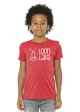 Load image into Gallery viewer, LL Sailboat Youth Triblend Short Sleeve Tee