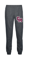 Load image into Gallery viewer, Cal-Mum BA377 Charcoal Badger Sport® 221500 Athletic Fleece Youth Jogger Pant