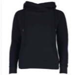 Load image into Gallery viewer, Enza Ladies Classic Fleece Funnel Neck Pullover Hoodie