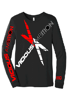 Vicious Ambition Bella Unisex Long Sleeve T-Shirt