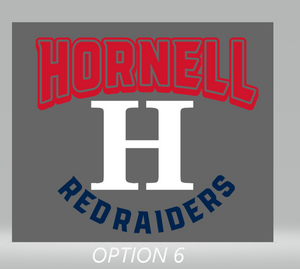 Hornell Ladies Triblend Varsity Long Sleeve Tee EZ098