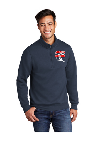 HHS Ski Team Port & Company ® Core Fleece 1/4-Zip Pullover Sweatshirt - PC78Q