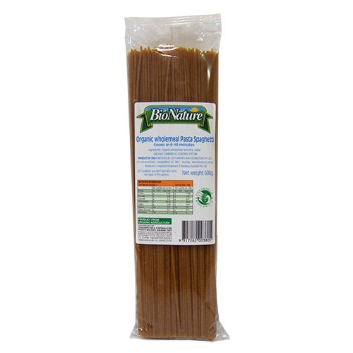 Wholemeal Spaghetti - BioNature 500g