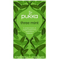 Teabags - Three Mint, Pukka 20 bags
