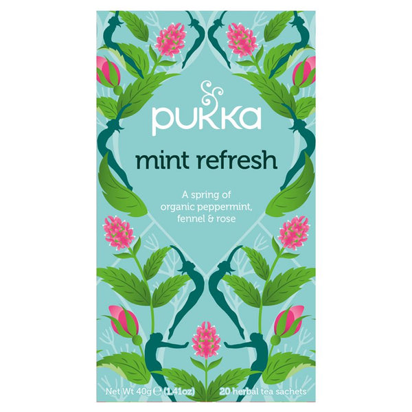 Teabags - Mint Refresh, Pukka 20 bags