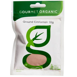 Cinnamon Ground, Gourmet Organic 30g