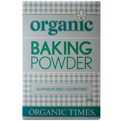 Baking Powder, Organic Times 200g