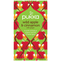 Teabags - Wild Apple & Cinnamon, Pukka 20 bags