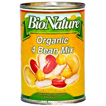 Four Bean Mix BioNature 400g