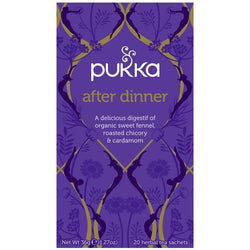 Teabags - After Dinner, Pukka 20 bags