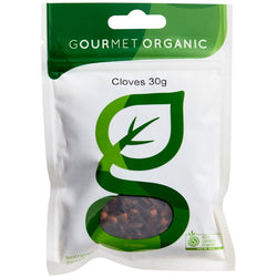 Cloves Whole, Gourmet Organic 30g