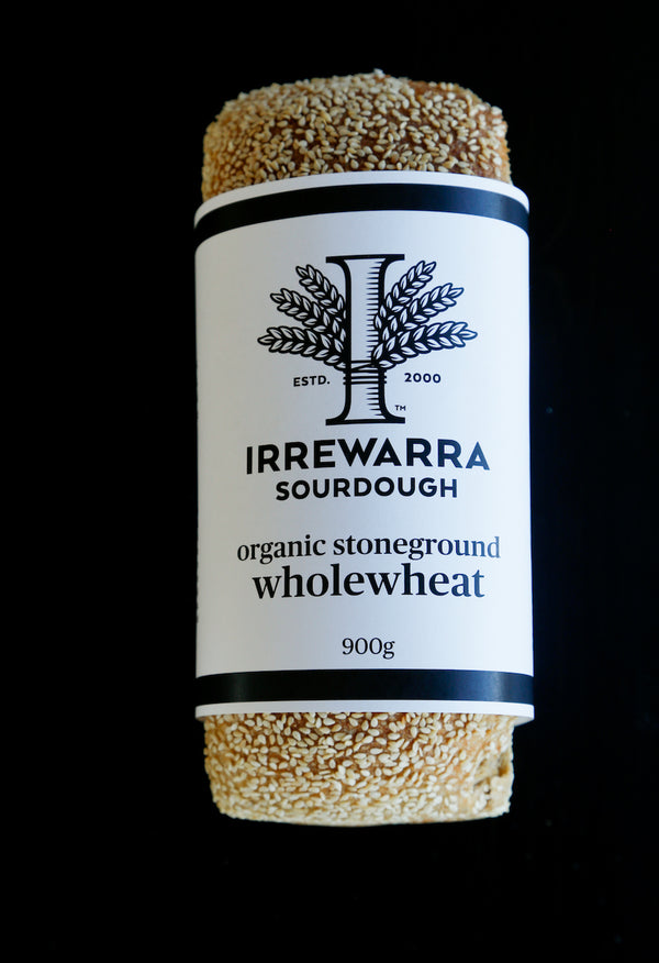 Sourdough Organic Stoneground Wholewheat, Irrewarra (conventional)
