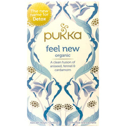 Teabags - Feel New, Pukka 20 bags