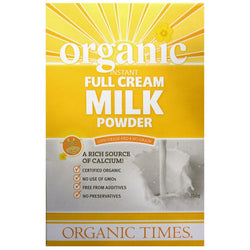 Full Cream Milk Powder, Organic Times 300g