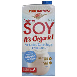 Soy Milk Enriched, Pure Harvest 1L