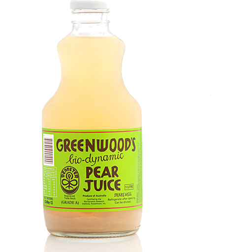 Pear Juice, Greenwood 1L