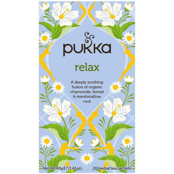 Teabags - Relax, Pukka 20 bags