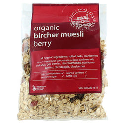 Muesli Bircher with Berry - Real Good Food 500g