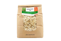 Rolled Oats - Kindred Organics 1kg
