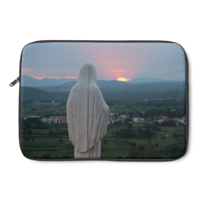 Our Mother at Sunset Laptop Sleeve