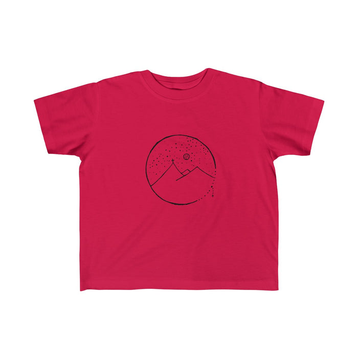 Kid's Jersey Tee with Cross Mountain Design