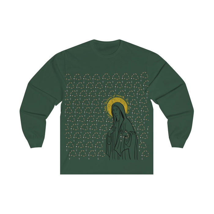 **Designer Pick** Our Lady Queen of Peace Long Sleeve