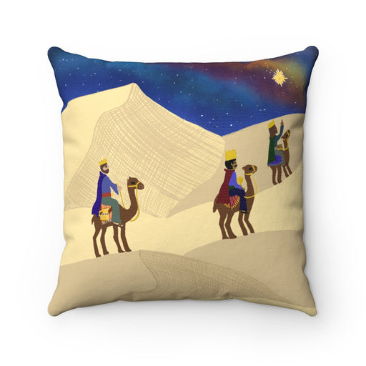 Three Wise Men On A Journey - Pillow