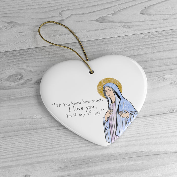 Mama Mary Ornament