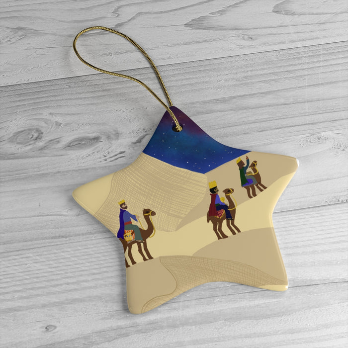 Three Wise Men Christmas Ornament